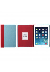 Kuhvuh Memorandum iPad Air - Sky Blue (Sky Blue & Red)