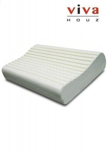 Therapedic Rubber Foam Pillow (Natural Rest 2) - Sleep Cool
