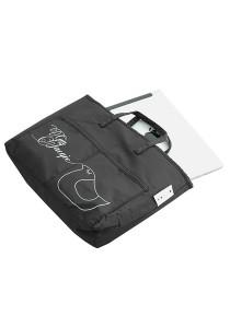 Gin & Jacqie Slim Ellie Ipad Bag Black Rolly G193PBR