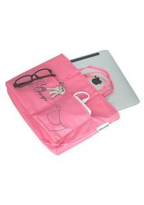 Gin & Jacqie Slim Ellie Ipad Bag Pink Rolly G193PPR