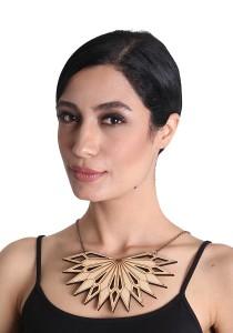 Salute Salma Inang Wood Necklace