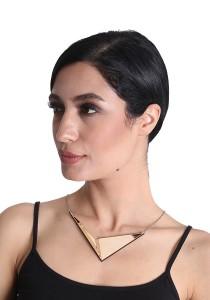 Salute Salma Avantgarde A Wood Necklace