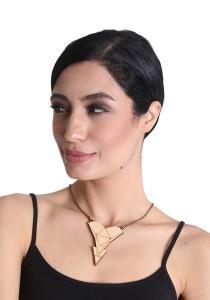 Salute Salma Avantgarde E Wood Necklace