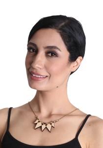 Salute Salma Avantgarde I Wood Necklace