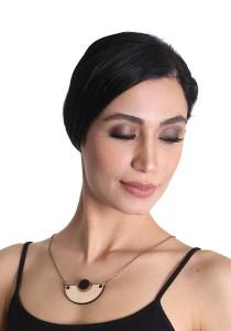 Salute Salma Avantgarde U Wood Necklace