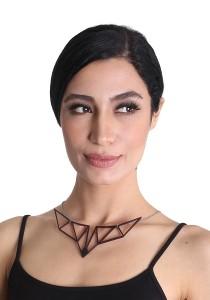 Salute Salma Foxy Acrylic Necklace