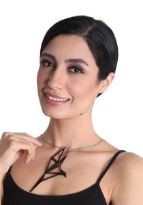 Salute Salma Flow III Acrylic Necklace