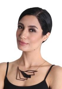 Salute Salma Flow II Acrylic Necklace