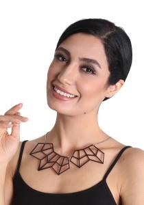 Salute Salma Sela II Acrylic Necklace