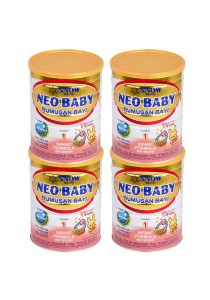 4 units Snow Neo Baby Infant Formula Step 1 (0-9months) 900g