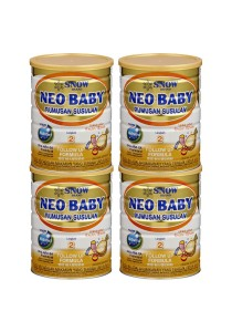 4 units Snow Neo Baby Follow Up Formula Step 2 (6-18months) 900g