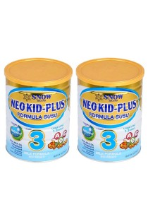 2 units Snow Neo Kid-Plus Milk Formula Step 3 (1-3 years old) 900g