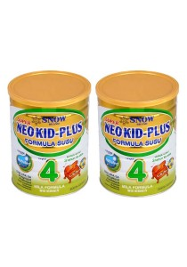 2 units Snow Neo Kid-Plus Milk Formula Step 4 (3 years old+) 900g