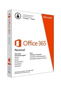Microsoft Office 365 Personal (1 User)