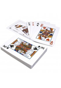 Sokano A4 Size Extra Large Poker Playing Cards