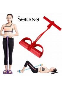 SOKANO EB321 Yoga Pedal Pull Rope Elastic Resistance Exercise Band Home Fitness