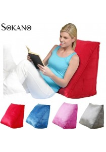 Sokano Extra Large Ergonomic Back Support Bed Stand Up Wedges Pillow