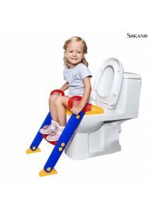 SOKANO Foldable Toilet Training Kit With Ladder