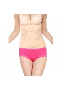 Sokano Maternity And Body Shaping Girdle Set (Beige)