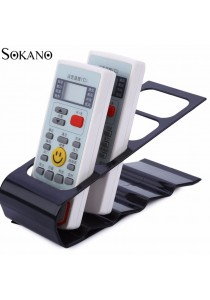 SOKANO Remote Control Stand and Organizer Shelf- Black