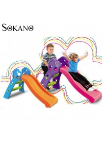 SOKANO TOY Mini Foldable Children Slide for Indoor and Outdoor