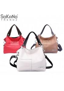 SoKaNo Trendz 12007 PU Leather Tote Bag