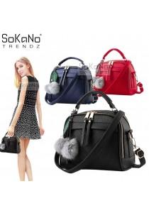 SoKaNo Trendz SKN607 Premium PU Leather Crossbody Bag