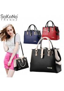 SoKaNo Trendz SKN818 Premium European Style Elegant Tote Bag