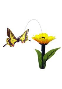 Eliossive Solar Garden Fluttering Butterfly LED Stick Light (Sunflower)