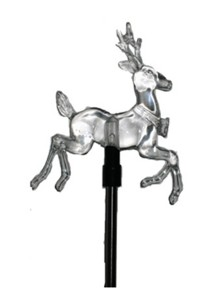 Solar Garden LED Stick Light (Reindeer)