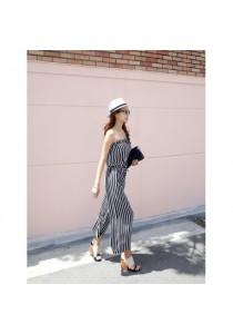 SP916405 - Fashion Stripe Jumpsuit