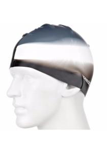 Speedo Multi Colour Silicone Cap (Black/White/Charcoal)