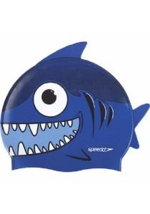 Speedo Sea Squad Character Cap (Shark Blue)