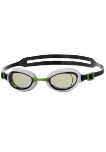 Speedo Aquapure Goggle Mirror-(Green/Silver)