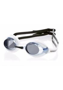 Speedo Merit Goggle Mirror - (White/Blue)