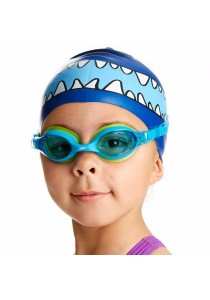 Speedo Sea Squad Cap And Goggle Set (Character Cap+Skoogle)(Blue)