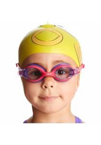 Speedo Sea Squad Cap And Goggle Set (Character Cap+Skoogle)(Yellow)