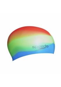 Speedo Multi Colour Silicone Cap (Green Fizz/Japan Blue/Siren)