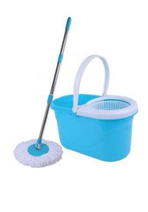 Magic Spin Mop 88 with Press Handle 360 Rotation Dryer Cleaner Bucket  + FREE Mop Head