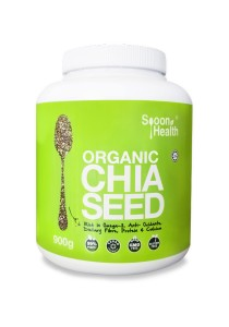 Spoon Health Organic Chia Seed (900g)