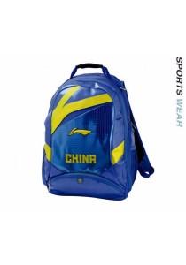 Li-Ning China Badminton Team Backpack (Blue)