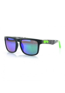 FASHION TEE Spy5 Sunglasses (Green/Black)