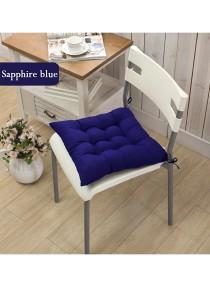 Square Candy Soft Chair Cushion (Sapphire Blue)
