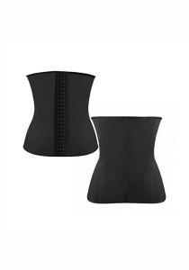 Supermodels Secrets Waist Trainer Instant Slimming Corset (Black)