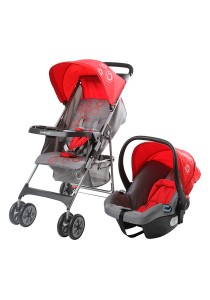 Sweet Heart Paris ST5100 Travel System Stroller (Red)