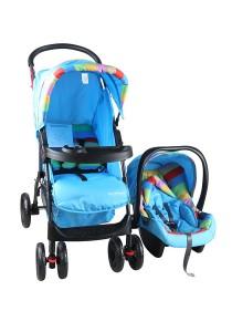 Sweet Heart Paris ST757 Travel System Stroller (Blue)