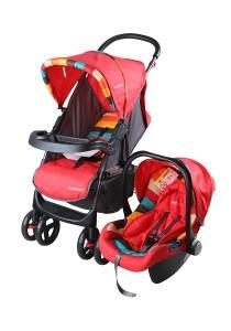 Sweet Heart Paris ST757 Travel System Stroller (Red)