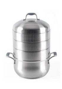 Stainless Steel Energy Saving Multi Steaming Pot