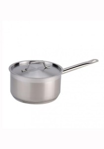 Stainless Steel Heavy Duty Sauce Pan with Lid 30cm