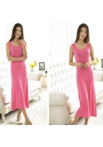 Stella Cotton Maxi Dress (5 Colours Available)